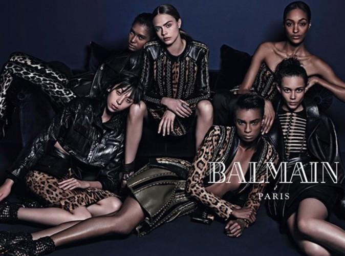 Mode : Cara Delevingne : elle remplace Rihanna pour Balmain !