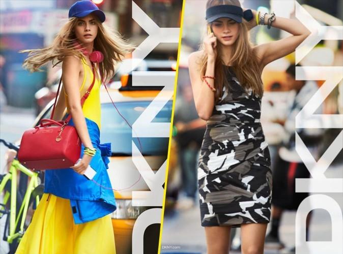 Mode : Cara Delevingne prend la pose pour DKNY !