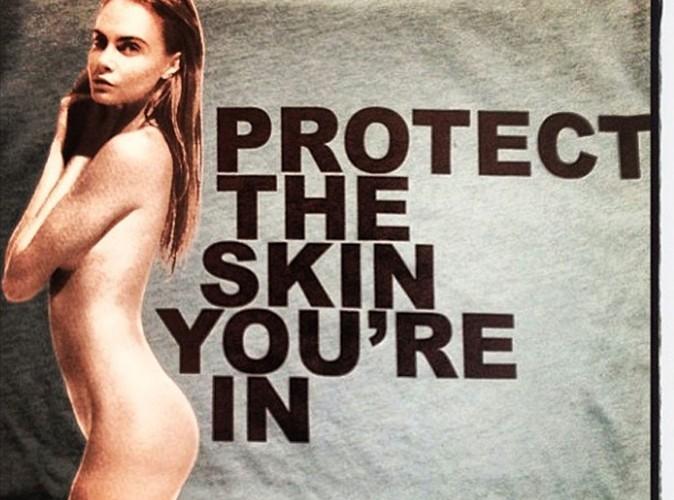 Mode : Cara Delevingne se met à nu pour lutter contre le cancer de la peau aux côtés de Marc Jacobs !