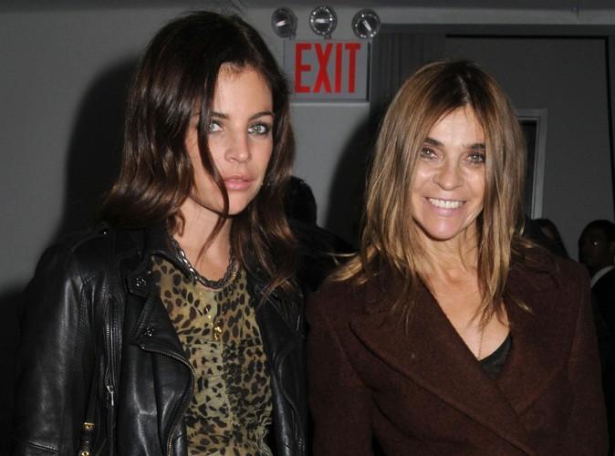 Carine Roitfeld et sa fille, Julia