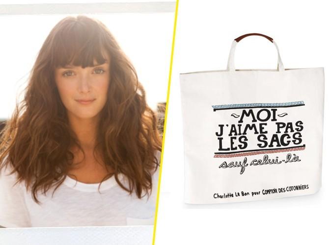 Mode : Charlotte Le Bon se met en quatre pour Comptoir des Cotonniers !