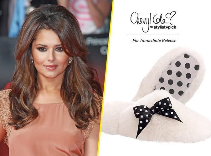 Mode: Cheryl Cole troque ses escarpins contre des chaussons !