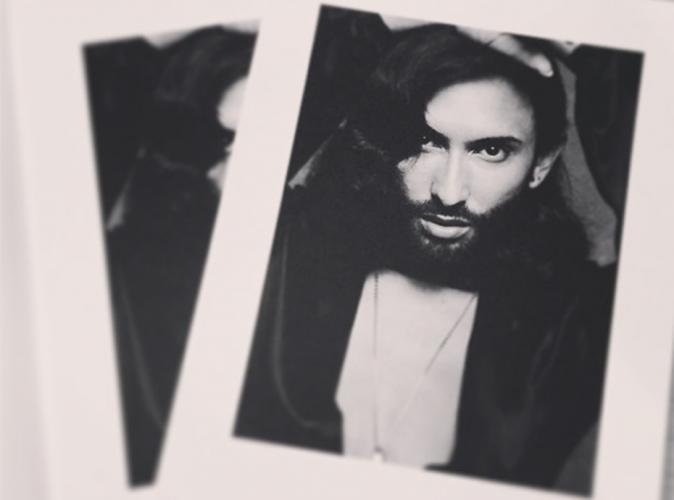 Mode : Conchita Wurst en lingerie fine dans le dernier shooting de CR Fashion Book !