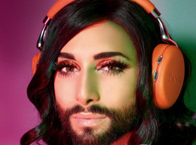 Mode : Conchita Wurst : la beauté barbue égérie Parrot !