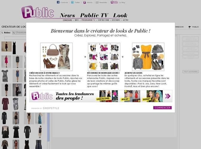Mode : créez vos looks grâce au créateur de looks Public !