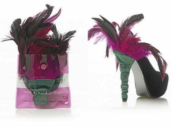 Mode : des préservatifs pour vos chaussures à talons !
