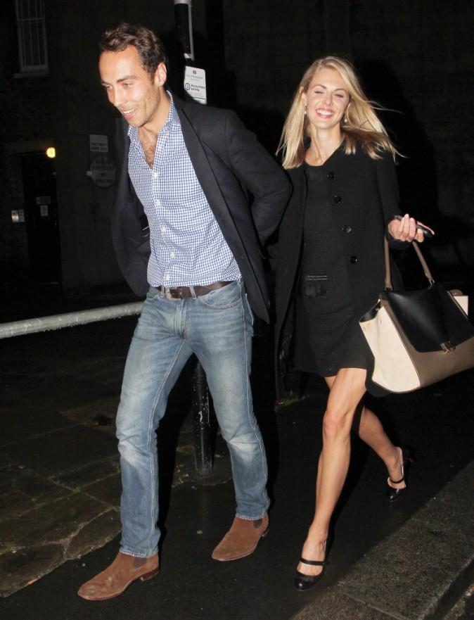 Donna Air et James Middleton, amoureux et souriants !