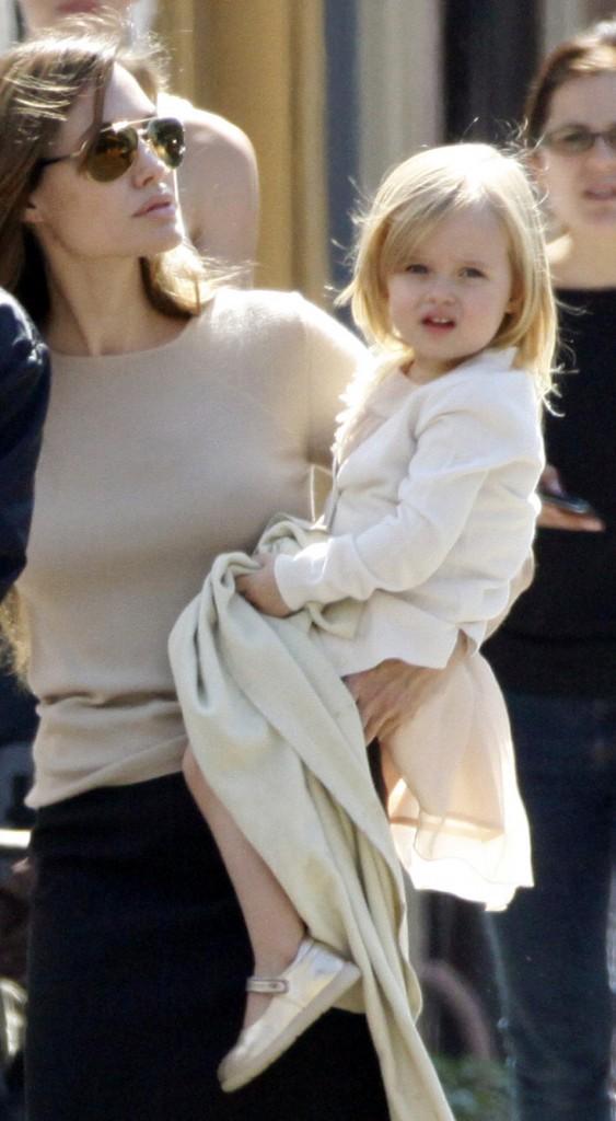 ... La jolie Shiloh Jolie Pitt qui est 10ème et cloture le classement !