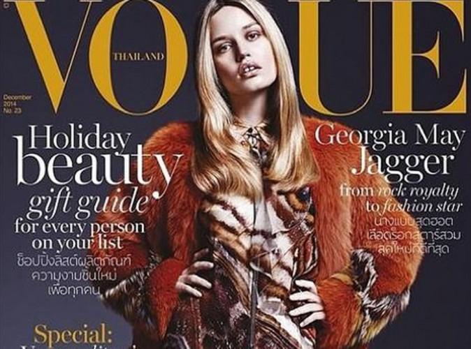 Mode : Georgia May Jagger : beauté chaude dans un shooting pour Vogue Thaïlande !