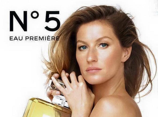 Mode : Gisele Bündchen : Elle enlève le haut pour Chanel N°5 !