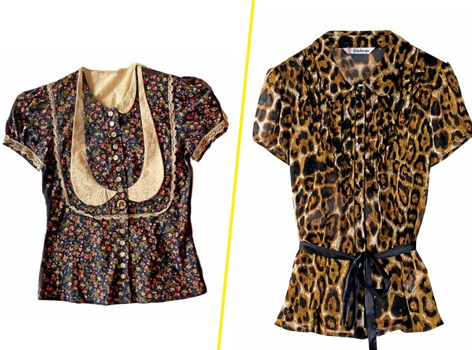 Mode : goodbye leopard, hello col claudine revisité !