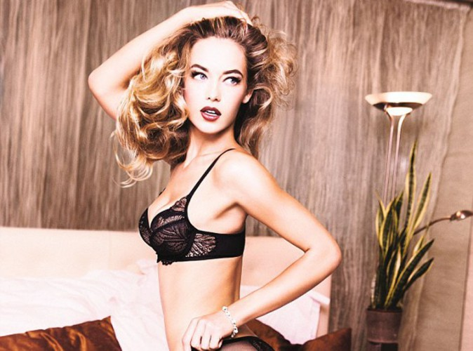 Mode : Hannah Ferguson : nouvelle égérie ultra sexy de Triumph !