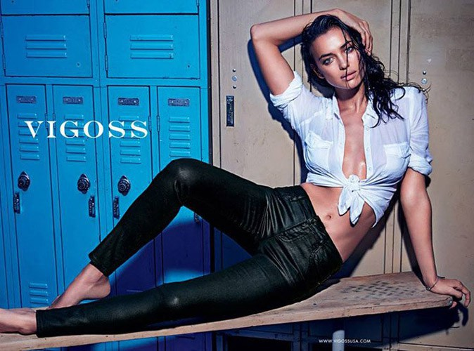 Mode : Irina Shayk : bombe atomique mouillée et ultra sexy pour Vigoss !