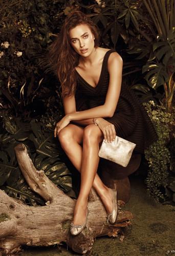 Mode : Irina Shayk : Egerie sensuelle pour XTI