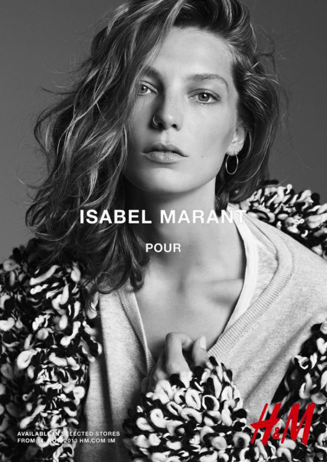 Daria Werbowy pour Isabel Marant x H&M