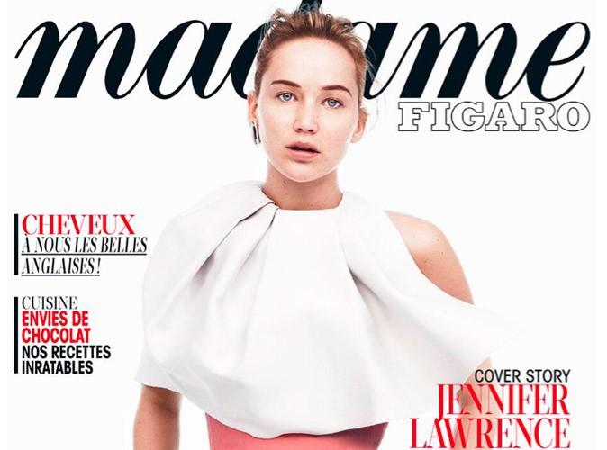 """Mode : Jennifer Lawrence, bientôt dans Hunger Games 2 : """"Je suis une actrice, pas une mannequin !"""""""
