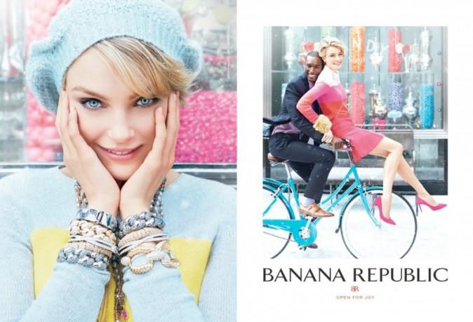 Jessica Stam et Arlenis Sosa : égéries d'hiver pour la campagne de Noël de Banana Republic !