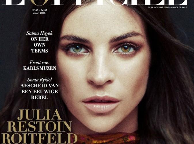 Mode : Julia Restoin Roitfeld : gracieuse et envoûtante pour L'Officiel !