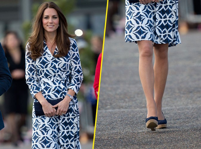 mode kate middleton fait de nouveau fureur avec sa robe diane von furstenberg. Black Bedroom Furniture Sets. Home Design Ideas