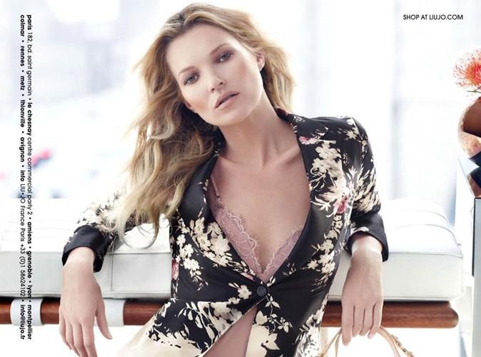 Mode : Kate Moss : découvrez le premier cliché de la brindille pour la campagne Automne-Hiver de la marque Liu Jo !