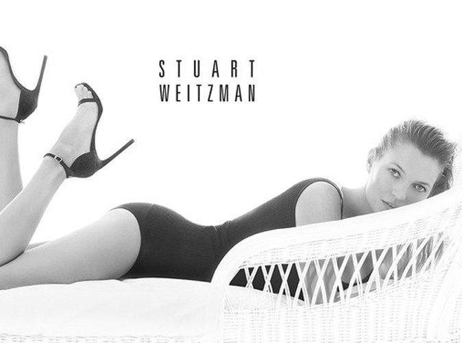 Mode : Kate Moss poursuit sa collaboration avec Stuart Weitzman !