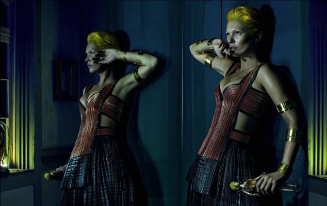 Kate Moss pour Alexander McQueen