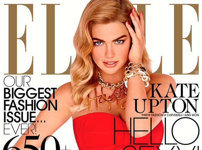 Mode: Kate Upton en couverture du September Issue de ELLE US !