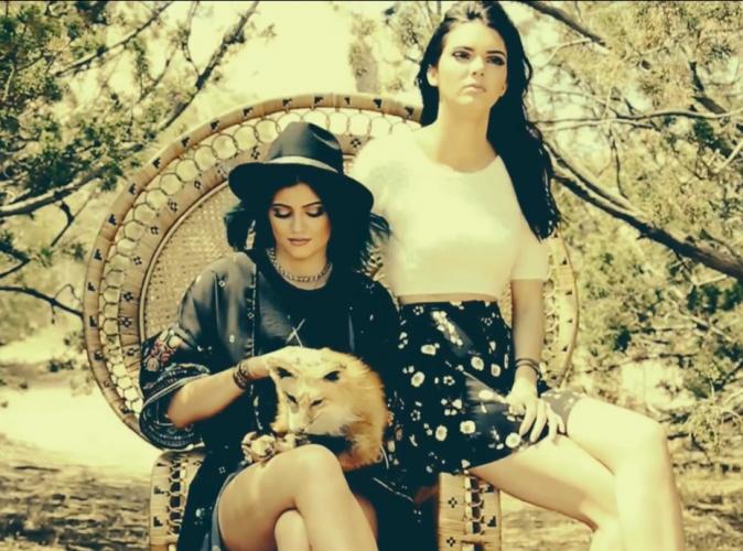 Mode : Kendall et Kylie Jenner : psychédéliques et envoutantes pour leur dernier collection !