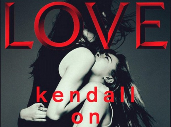 """Mode : Kendall Jenner, Cara Delevingne : elles se """"Love"""" face caméra !"""