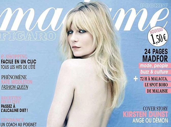 Mode : Kirsten Dunst fait tomber le haut pour Figaro Madame !