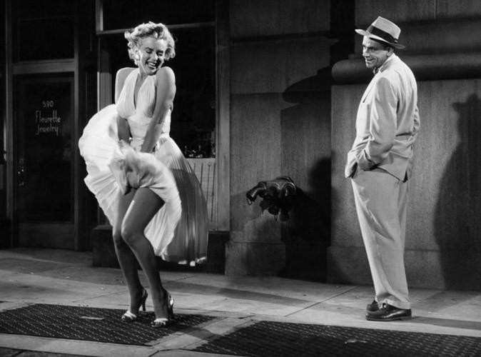Mode : la célèbre robe blanche de Marilyn Monroe vaut de l'or !