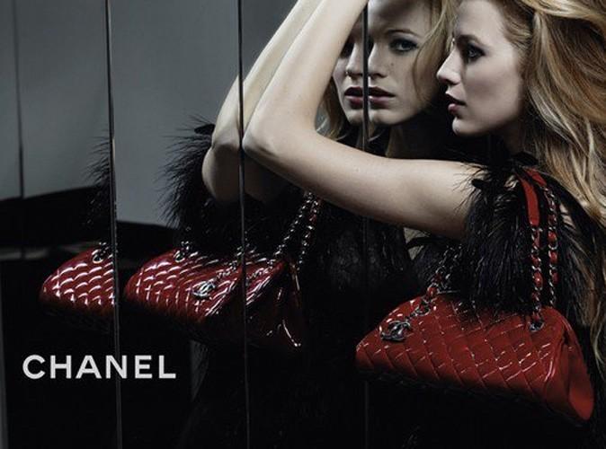 Mode : la première pub de Blake Lively pour les sacs Chanel !