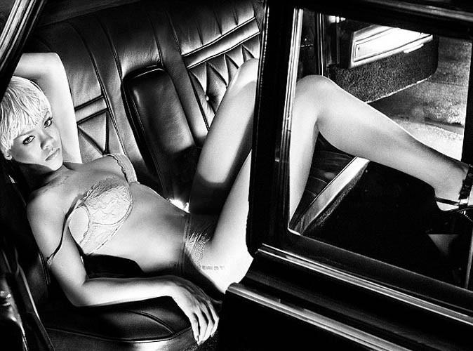 Mode : La pub la plus sexy de l'année : Rihanna pour Armani !