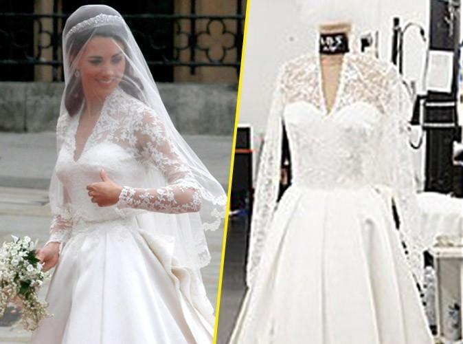 Mode : la réplique de la robe de mariée de Kate Middleton bientôt disponible !