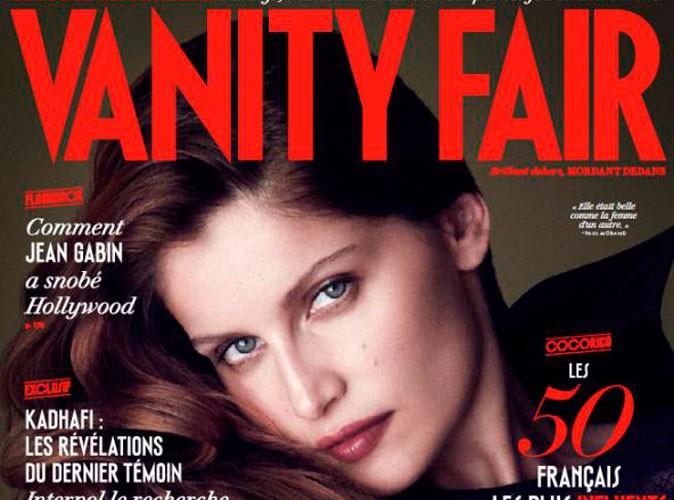 """Mode : Laetitia Casta : en couverture de Vanity Fair : """"Mon succès a foutu le bordel dans ma famille !"""""""