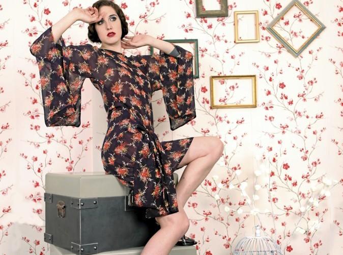 Mode : le kimono, la nouvelle tendance parisienne !