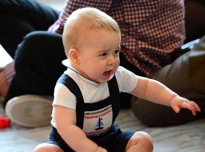 Mode : Le prince George, déjà une icône de la mode !