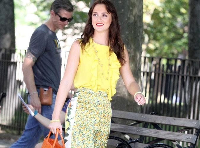 Mode : Leighton Meester n'est pas Blair Waldorf !