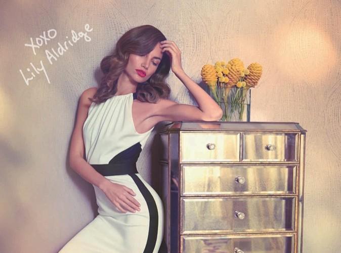 Mode : Lily Aldridge : magnifique pour la nouvelle collection XOXO !