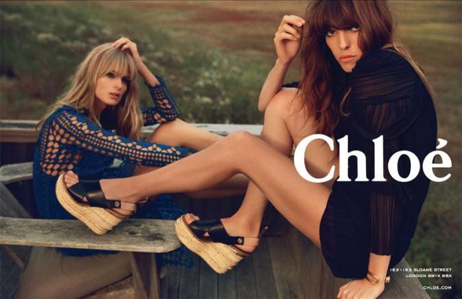 Mode : Lou Doillon : Chloé a choisi la chanteuse pour représenter sa campagne printemps-été 2014 !