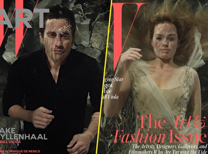 Mode : Jake Gyllenhaal et Margot Robbie : en apnée pour W magazine !