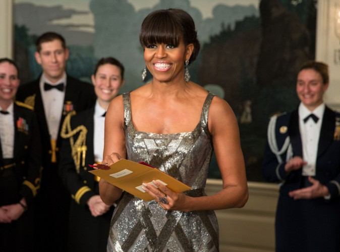 "Mode : Michelle Obama : une robe ""made in France"" pour la First Lady !"