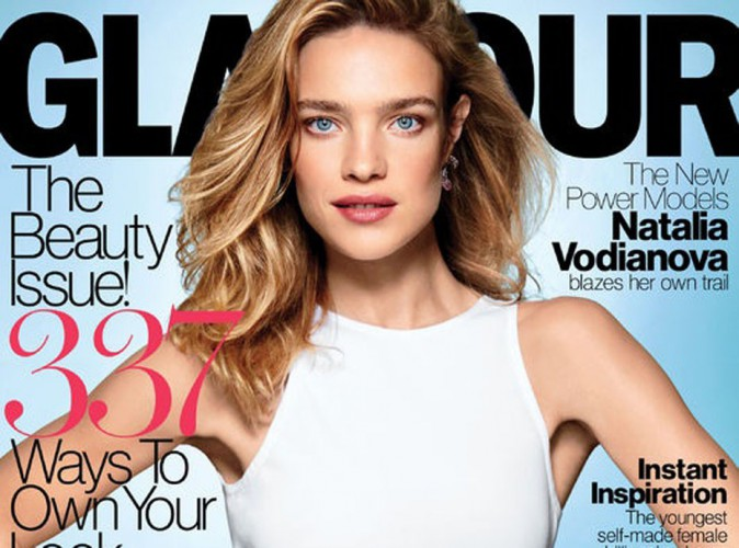 mode natalia vodianova intense et glamour en. Black Bedroom Furniture Sets. Home Design Ideas