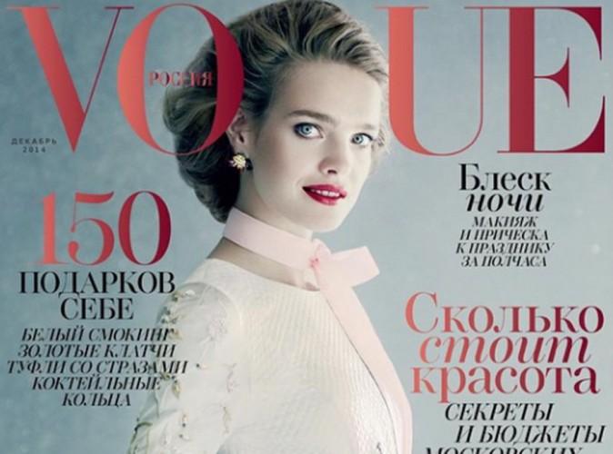 Mode : Natalia Vodianova : une princesse Russe tout droit venue d'un conte pour Vogue Russia !