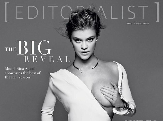 Mode : Nina Agdal : elle dévoile sa poitrine sexy sur la couverture de The Editorialist !