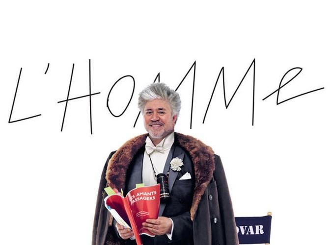 Mode : Pedro Almodóvar nouvelle égérie des Galeries Lafayette Homme