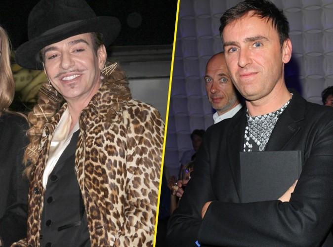 Mode : Raf Simons succède à John Galliano chez Dior !