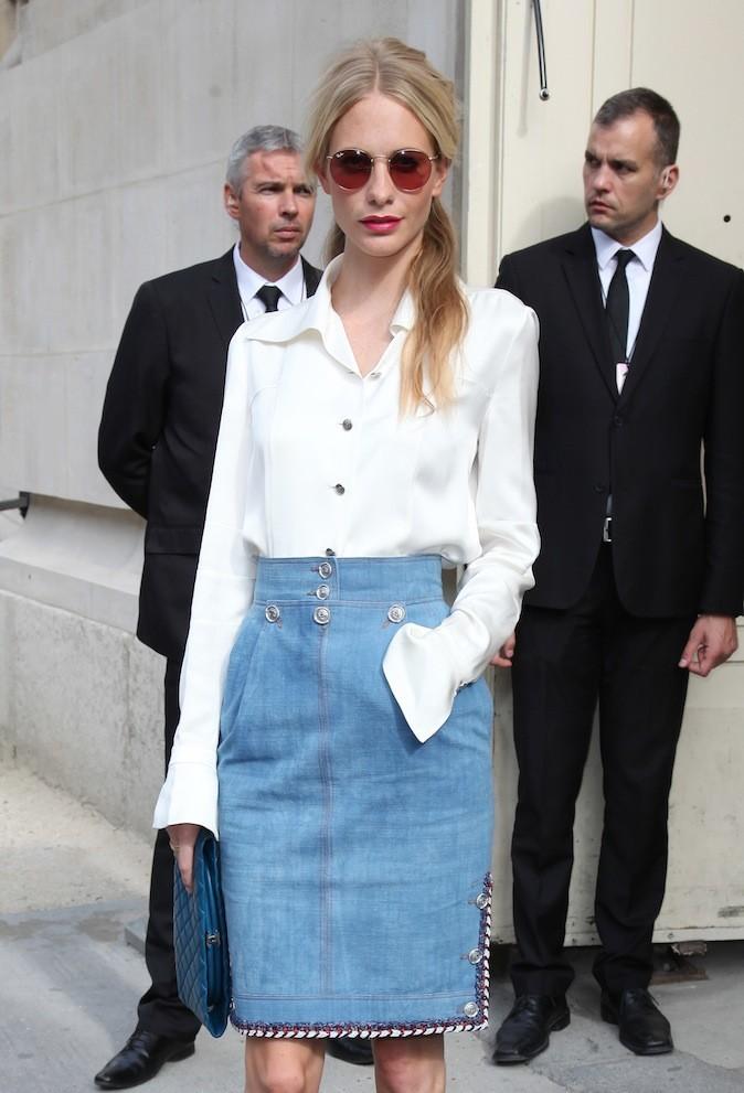 Poppy Delevigne à la Fashion week !
