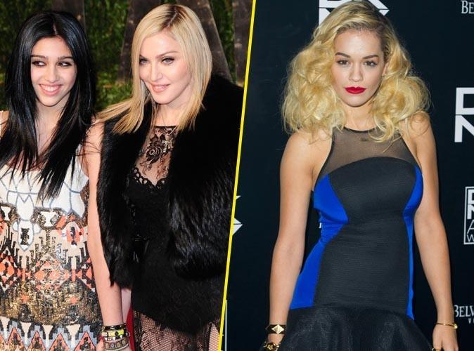 Mode : Rita Ora : C'est officiel, la chanteuse devient la nouvelle muse de Madonna !