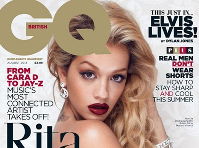 Mode : Rita Ora : elle s'affiche topless et glamour en couverture de GQ Magazine !